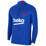 Nike FC Barcelona VaporKnit Strike Drill Top AO4988-402 Lyon Blue