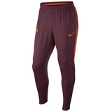 Nike Official 2017/18 Barcelona Dry Squad Pants 904685-685 Crimson