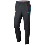 Nike Official 2017/18 Chelsea Dry Squad Pants 905456-064 Anthracite/Omega Blue