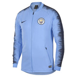 Nike Official 2018-2019 Manchester City Anthem Jacket 894363-488 Light Blue