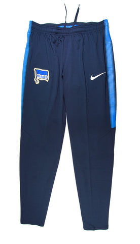NIKE Authentic Hertha Berlin SC Dry Squad Training Pants Home 2017 - 2018
