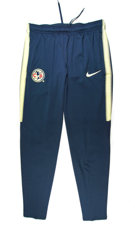 NIKE Authentic Club América Dry Squad Training Pants Home 2017 - 2018