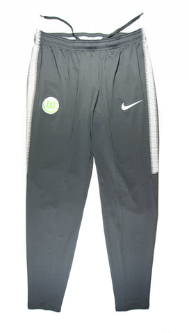 NIKE Authentic VfL Wolfsburg Dry Squad Training Pants Home 2017 - 2018