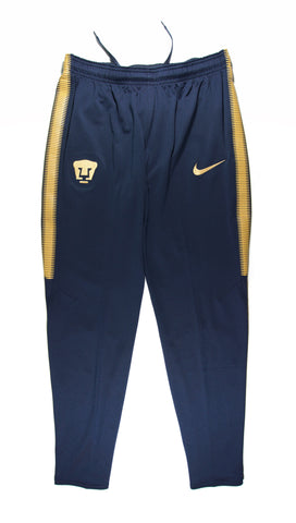 NIKE Official 2017/18 PUMAS UNAM Dry Squad Training Pants 861417-451 Navy