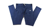 Women's Authentic Freddy WR.UP Dark Blue Denim Blue Stitching WRUP1RJ1E Mid Waist
