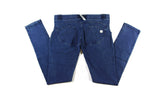 Women's Authentic Freddy WR.UP Dark Blue Denim Blue Stitching WRUP1RJ1E Low Waist