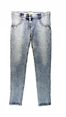 Women's Authentic Freddy WR.UP Stonewashed Denim WRUP1RV6E Mid Waist