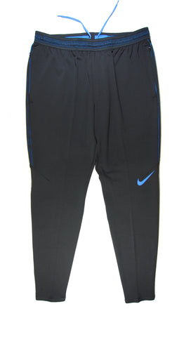 NIKE Authentic Dry Strike Training Pants Black Blue