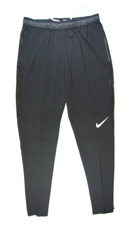 NIKE Authentic Dry Strike Training Pants Black White