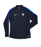 NIKE Official France FFF Squad Drill Quarter Zip Midlayer Jacket