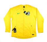 NIKE Official Brazil Anthem Dry Squad Tracktop Jacket 893584-749 WC 2018