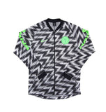 NIKE Official Nigeria Anthem Dry Squad Tracktop Jacket 893597-100 WC 2018