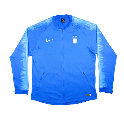 NIKE Official Greece Anthem Dry Squad Tracktop Jacket 2018