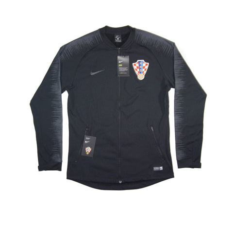 NIKE Official Croatia Anthem Dry Squad Tracktop Jacket 893587-010 WC 2018