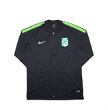 NIKE Official 2017-2018 Atletico Nacional Dry Squad Tracktop Travel Jacket