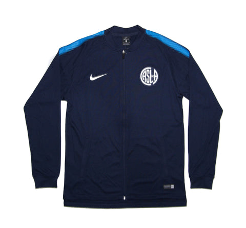 NIKE Official 2017-2018 San Lorenzo Dry Squad Jacket 883771-453 Navy