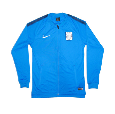 NIKE Official 2017-2018 Alianza Lima Dry Squad Jacket 884479-406 Blue