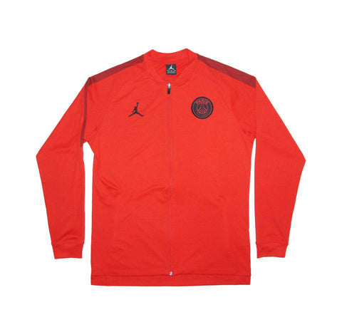 Official 2018-2019 Paris Saint Germain PSG Jordan Edition Jacket AQ0964-657 Red