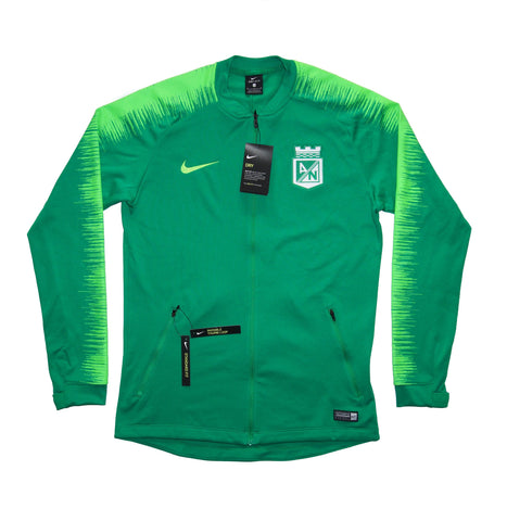 NIKE Official 2018-2019 Atletico Nacional Anthem Jacket AH9767-398 Green
