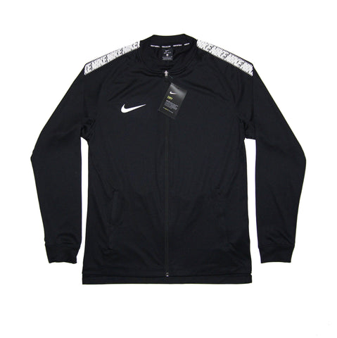 NIKE Official 2017/18 Dry Squad Jacket Knit AJ6271-010 Black