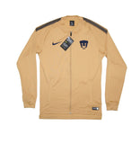 NIKE Official 2017/18 PUMAS UNAM Dry Squad Jacket 855833-711 Gold