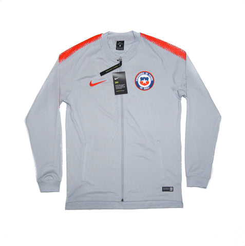 NIKE Official 2018/19 Chile National Team Dry Squad Jacket Knit 898785-014 Grey