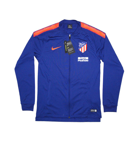 NIKE Official 2018/19 Atlético de Madrid Dry Squad Jacket Knit 919972-456 Blue
