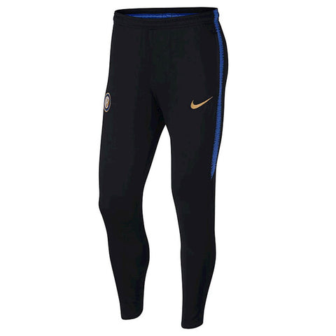 Nike Official 2018/19 Inter Milan Dry Squad Training Pants 919976-010 Black