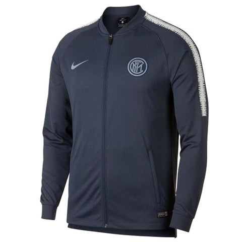 Nike Official 2018-2019 Inter Milan Dry Squad Jacket 919976-475 Grey