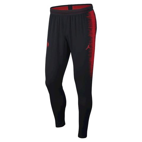 Nike/Jordan Paris Saint Germain PSG VaporKnit Strike Pants AQ0948-012 Black/Red