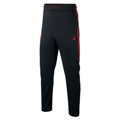 Youth Official 2018-2019 Jordan PSG Paris Saint Germain Track Pants AQ0976-657 Black/Red
