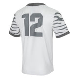Nike Collage Memphis Tigers Game Football Jersey White #12