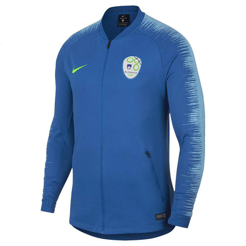 Nike 2018/19 Slovenia National Team Anthem Jacket 893604-465 Blue