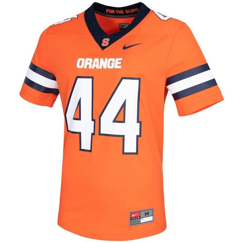 Nike Collage Syracuse Orange Untouchable Game Jersey Orange #44