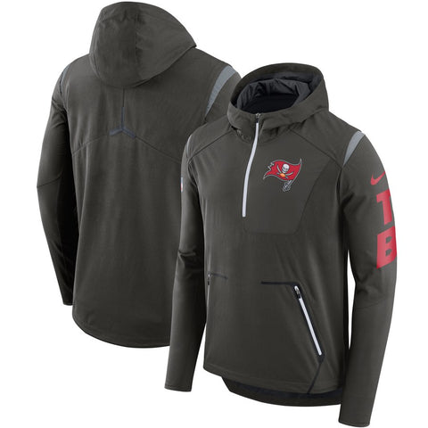 Nike NFL Tampa Bay Buccaneers Alpha Fly Rush Performance Half-Zip Pullover Jacket