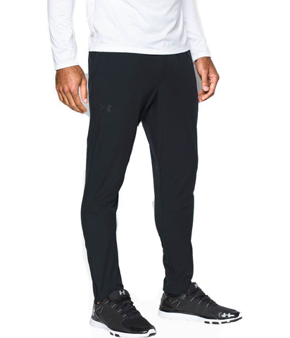 Men's Authentic Under Armour UA WG Woven Tapered Pants Black - brandshoper.com