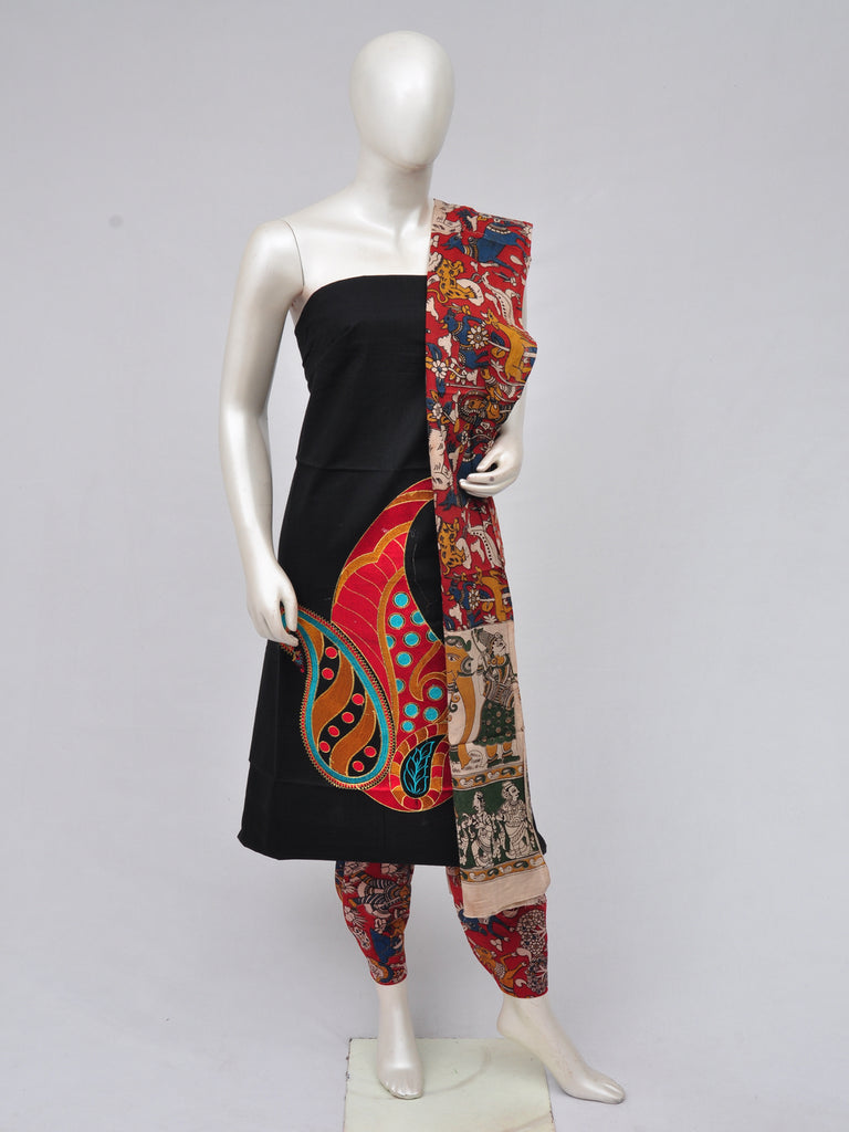 Ladies Dress Material Doll Drop Kalamkari  [D70219002]