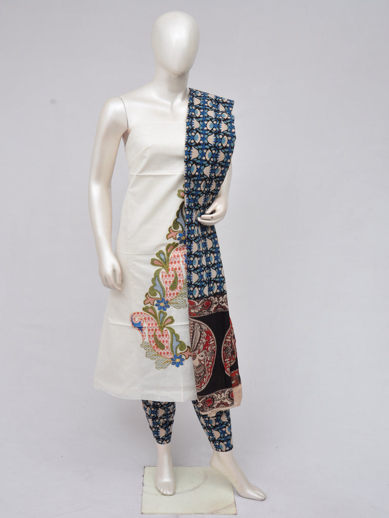 Ladies Dress Material Doll Drop Kalamkari  [D70219004]