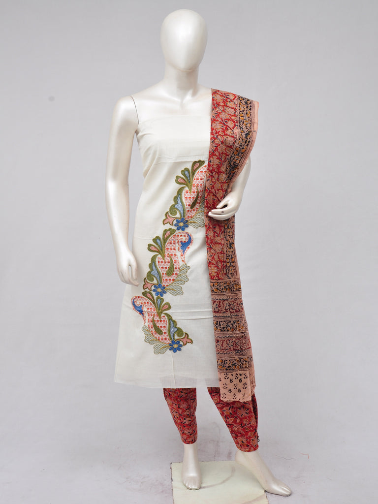 Ladies Dress Material Doll Drop Kalamkari  [D70228018]