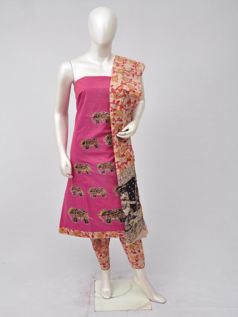 Ladies Dress Material Doll Drop Kalamkari [D70523026]