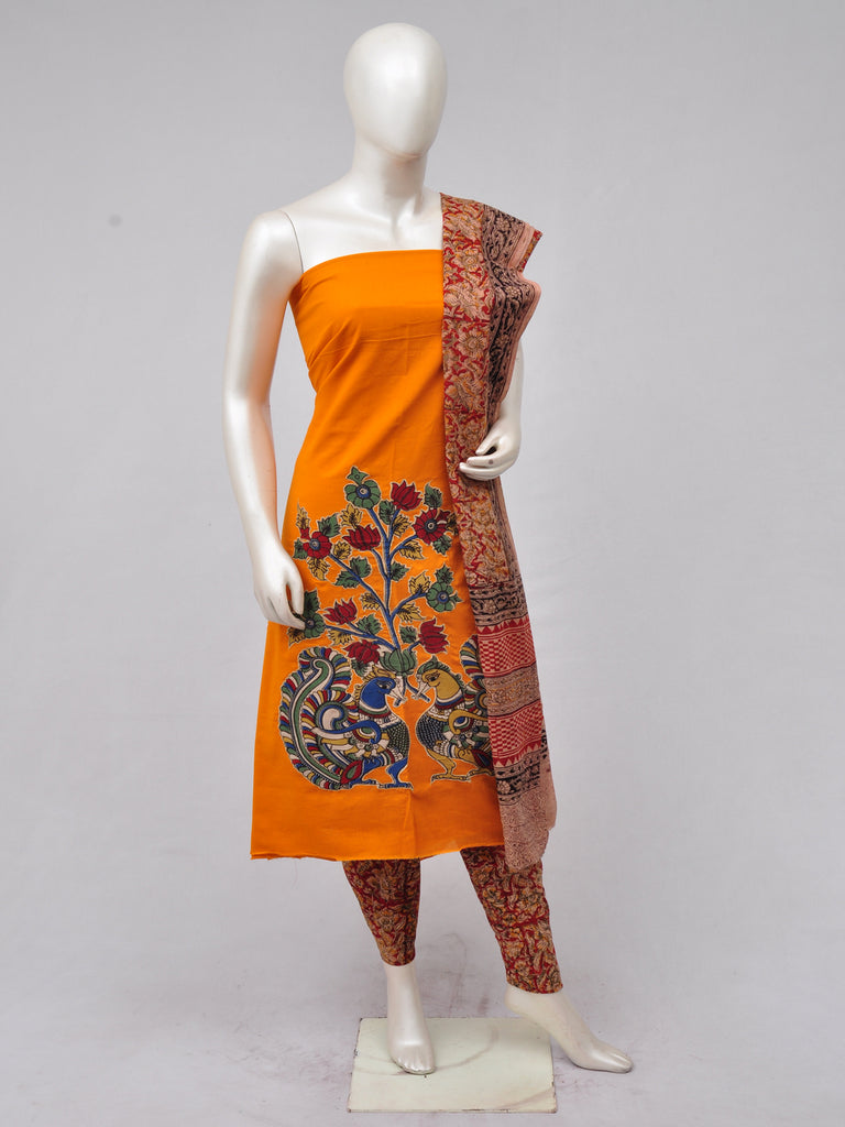 Ladies Dress Material Doll Drop Kalamkari  [D70228046]