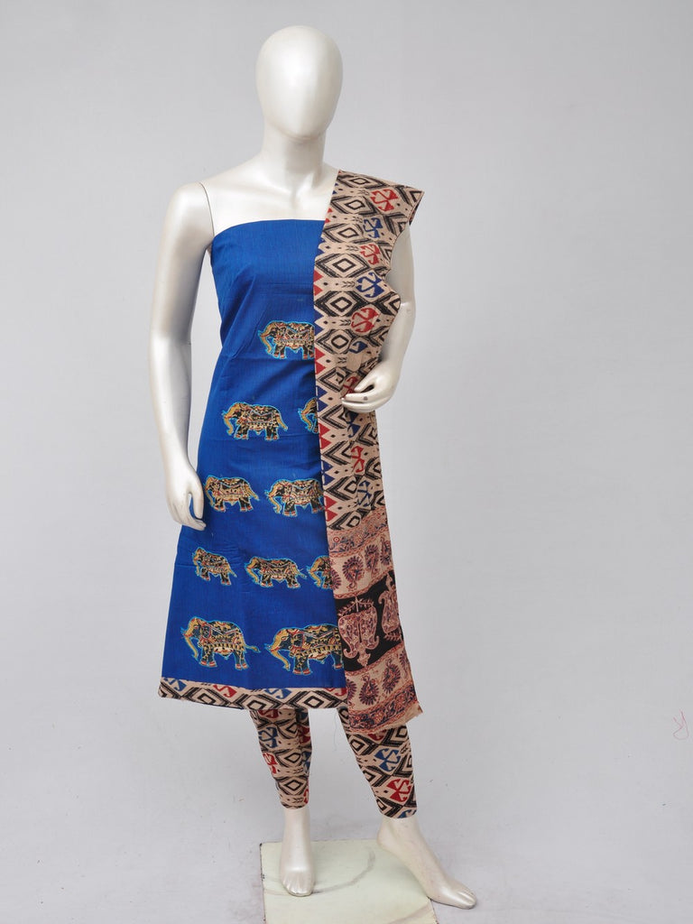 Ladies Dress Material Doll Drop Kalamkari  [D70526069]