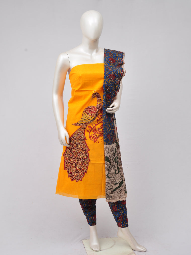 Ladies Dress Material Doll Drop Kalamkari  [D70313015]