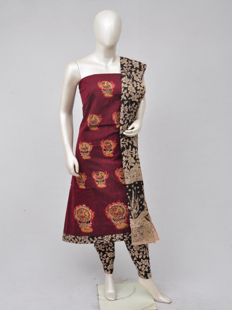 Ladies Dress Material Doll Drop Kalamkari [D70527105]