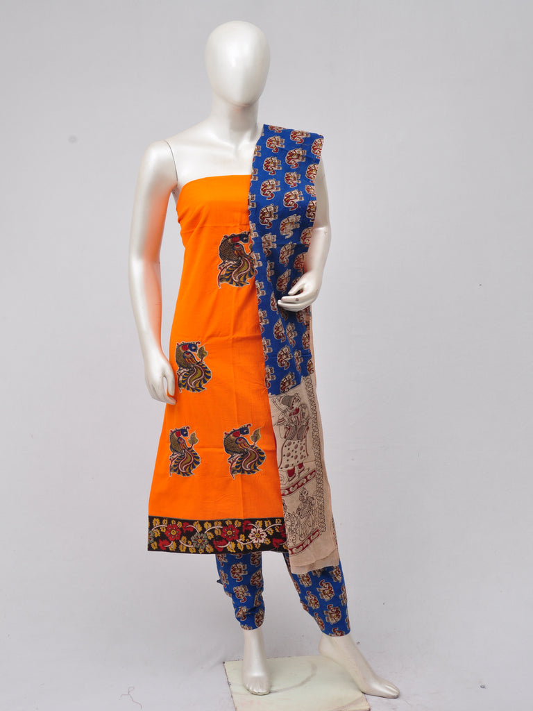 Ladies Dress Material Doll Drop Kalamkari  [D70315006]