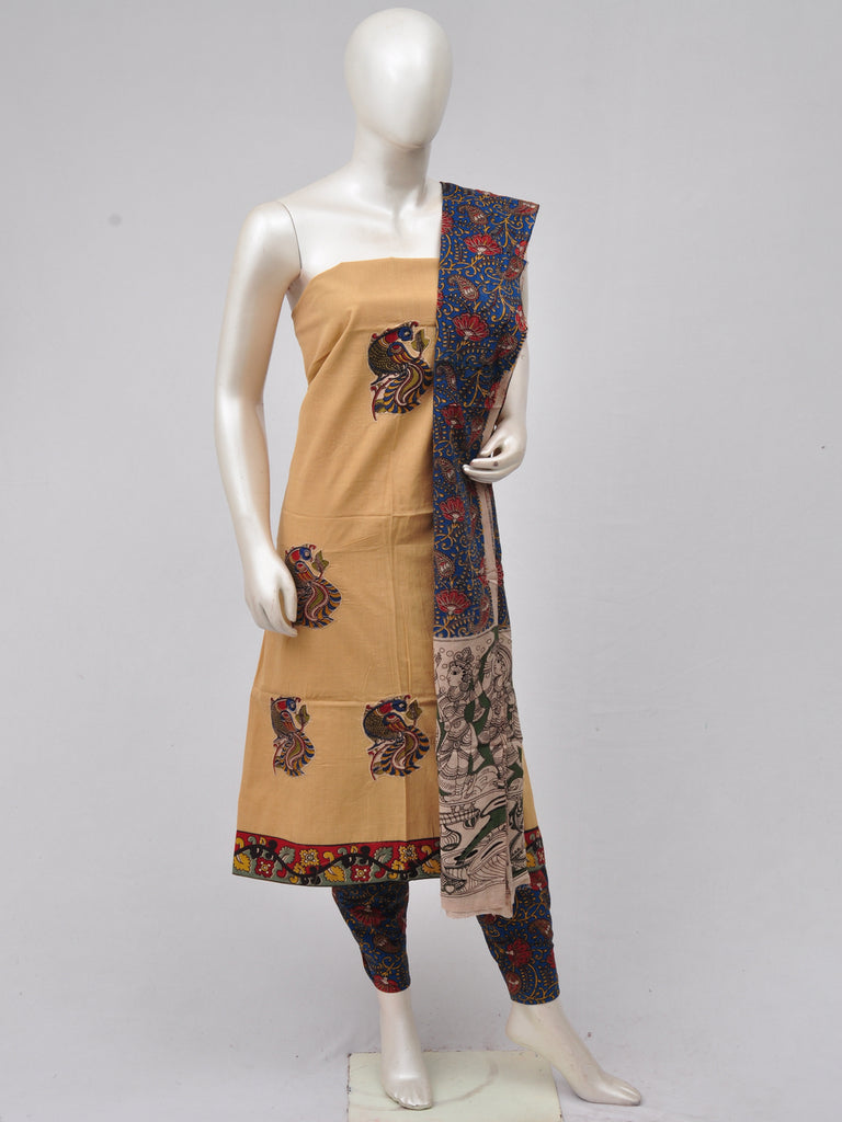 Ladies Dress Material Doll Drop Kalamkari  [D70315025]
