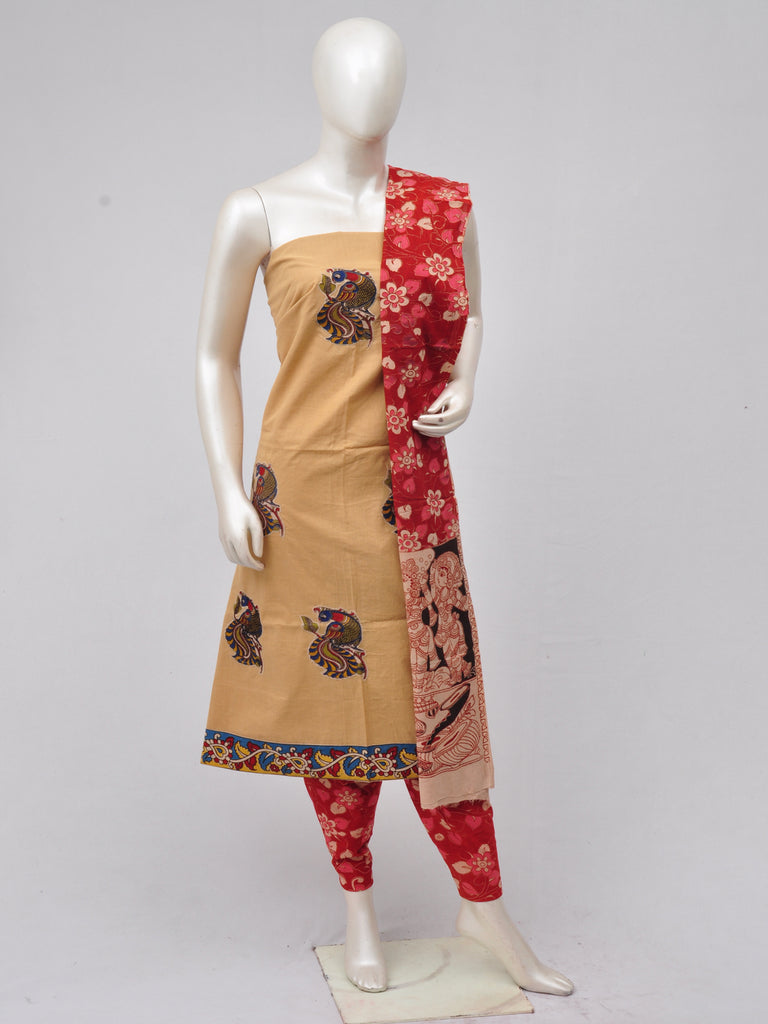 Ladies Dress Material Doll Drop Kalamkari  [D70315032]