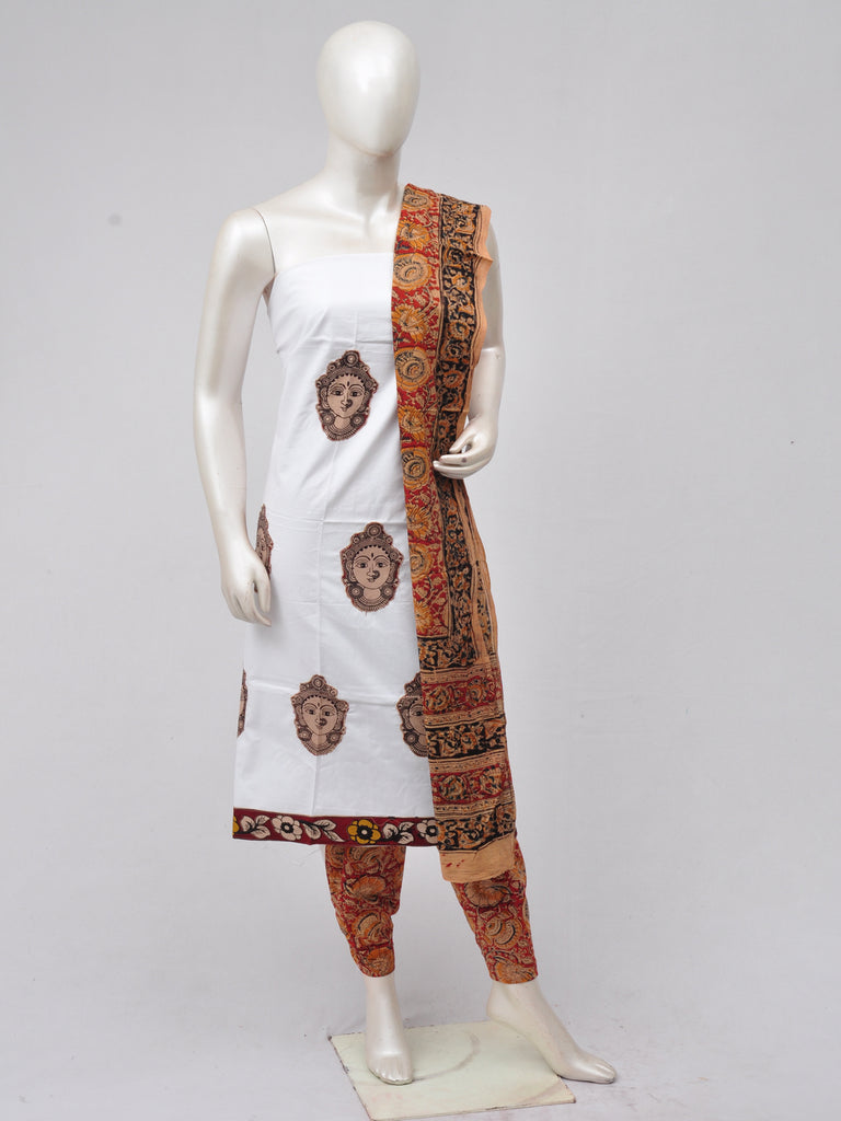 Ladies Dress Material Doll Drop Kalamkari  [D70315033]