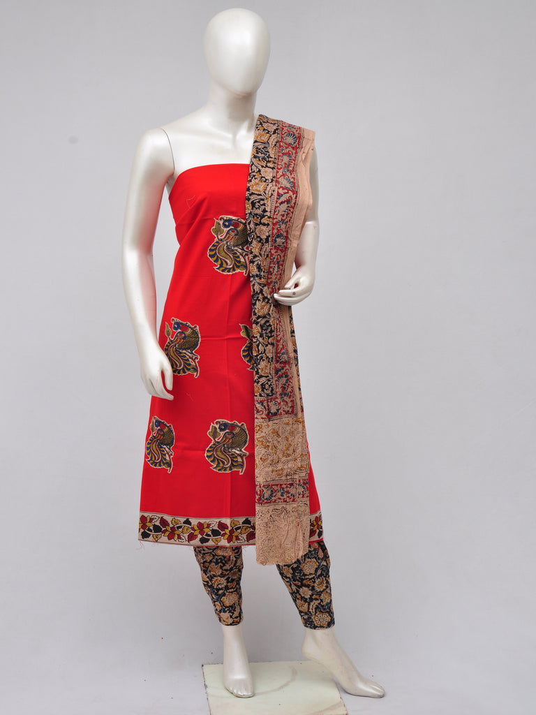 Ladies Dress Material Doll Drop Kalamkari [D70326034]
