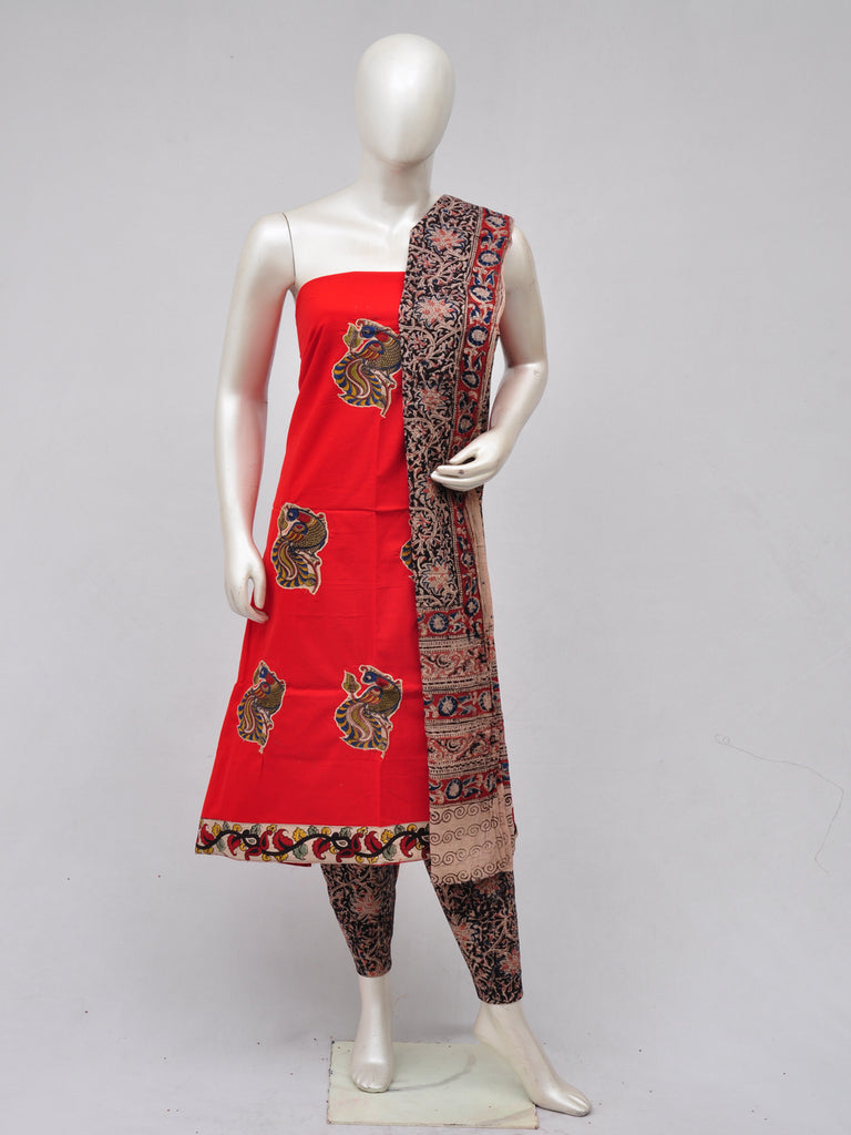 Ladies Dress Material Doll Drop Kalamkari [D70327066]